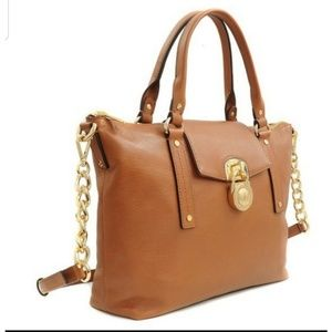 Michael Kors Hamilton Leather Slouchy Satchel